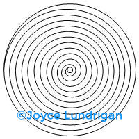 Concentric Circle 6 Set