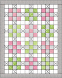 Nine Patch Time Piecing Pattern