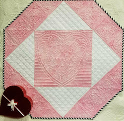 Hearts A Flutter Piecing Pattern