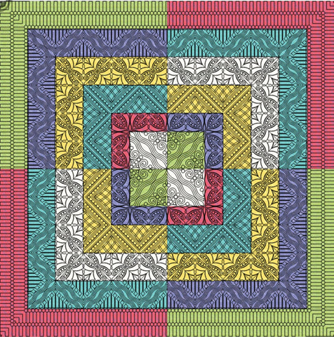 Sorbet Piecing Pattern