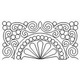 MD Scroll Pearl Feather Border Corner Set