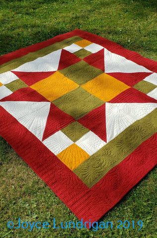 Autumn Sunrise Piecing Pattern
