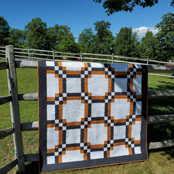 Modern Square Dance Piecing Pattern