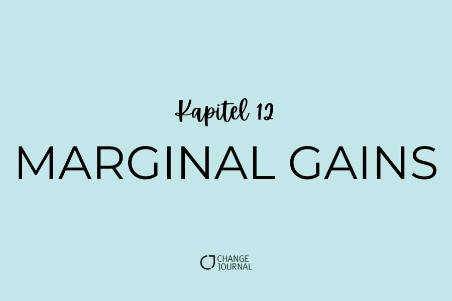 Marginal Gain Kapitel 12 Change Journal