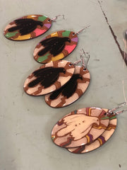 Bunjil resin Cultural Shape Workshop The Koorie Circle