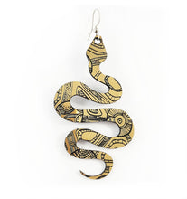 Serpent Aboriginal Earrings