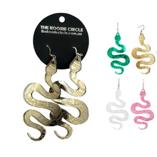 Serpent - Glam Edition - Aboriginal Earrings