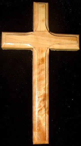 Hand Made Olive Wood Cross