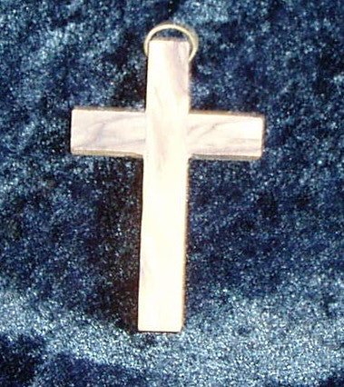 Olive Wood Cross Pendent