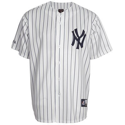 sports shoes 4e282 e6756 New York Yankees Replica Adult Jersey by Majestic (BLANK)