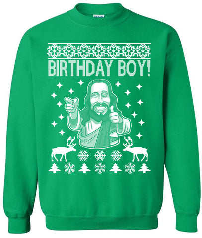 Birthday Boy! - Ugly Christmas Sweater