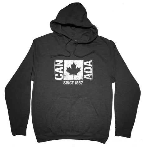 CAN ADA Flag Since 1867 Premium Hoodie