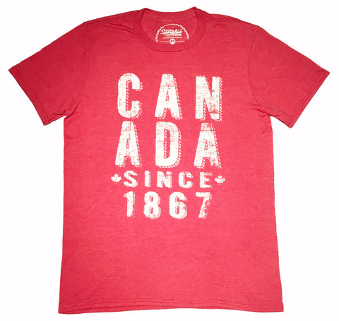 CAN ADA Since 1867 Unisex Tee