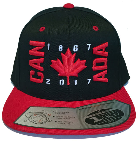 CAN ADA Flag Snap Back