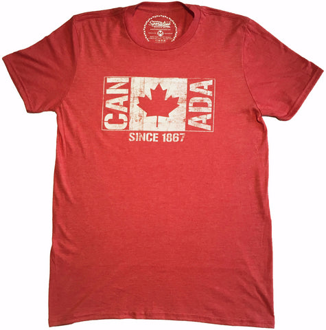 CAN ADA Flag Since 1867 Unisex Tee