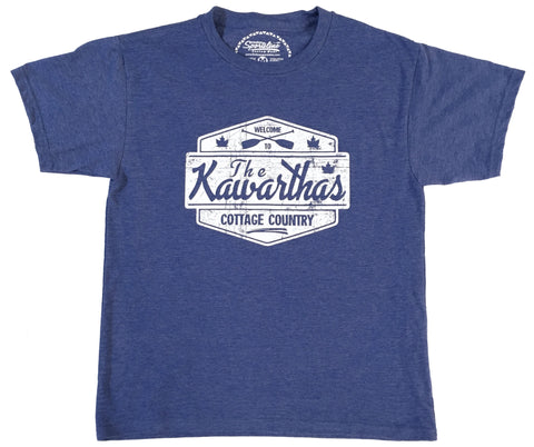 *NEW* KIDS SIZE Cottage Country - The Kawarthas Unisex Tee