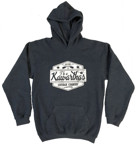 KIDS SIZE Cottage Country - The Kawarthas Premium Hoodie