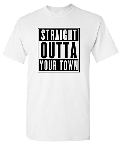 *Custom* Straight Outta Somewhere Tee