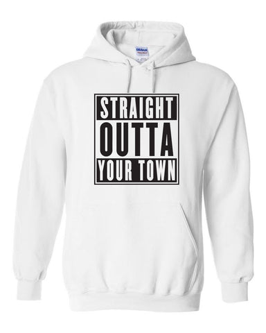 *Custom* Straight Outta Somewhere Hoodie