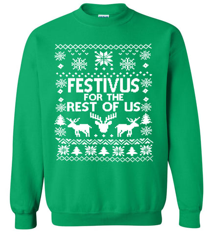 Festivus for the Rest of Us - Ugly Christmas Sweater