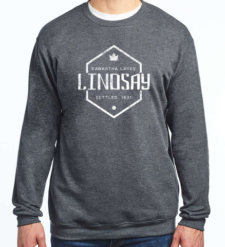 *NEW 2020* Lindsay Settled 1831 - Kawartha Lakes Crewneck Sweatshirt