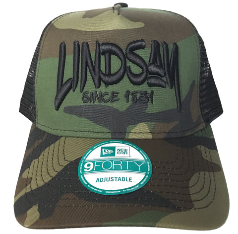 LINDSAY Since 1831 New Era Trucker Mesh Back