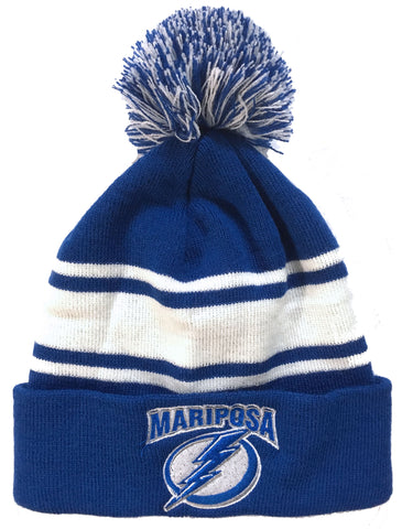 *NEW 2018* Mariposa Lightning Pom Pom Toque
