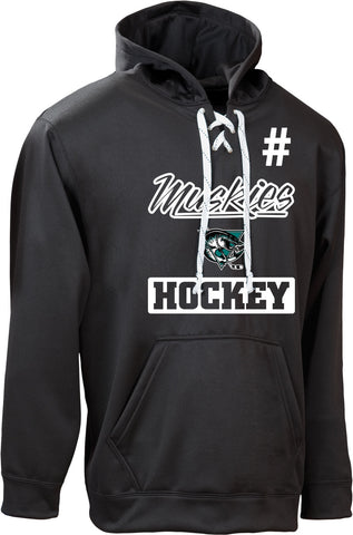 Muskies Team Performance Dangler Hoodie (CUSTOMIZED WITH NUMBER *Optional)