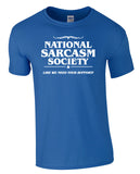 National Sarcasm Society Tee