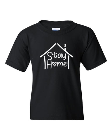 Stay Home - Adult & Youth Tee