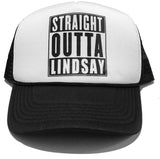 Straight Outta Lindsay Trucker Mesh Back