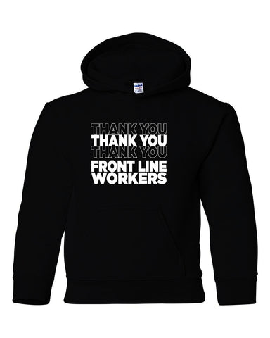 Thank You  - Adult & Youth Hoodie