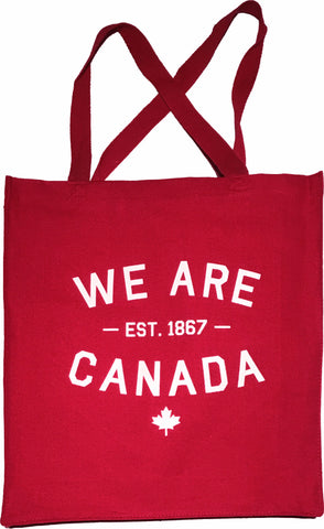 We Are Canada Canvas Shopper