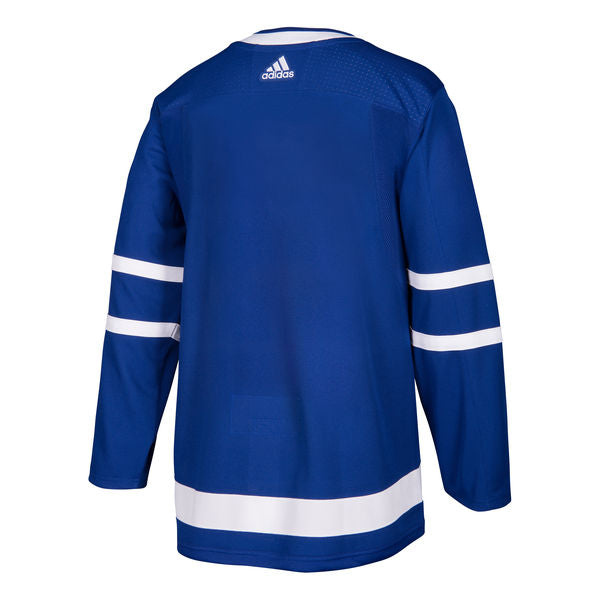 Toronto Maple Leafs adidas Adult Blue Home Authentic Blank Jersey