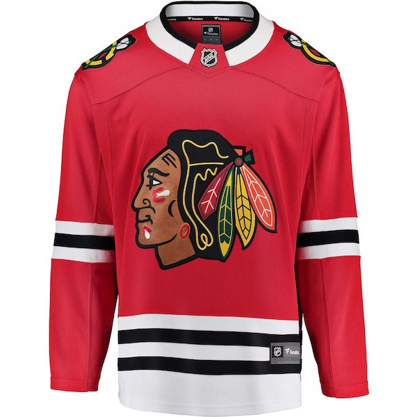 Chicago Blackhawks Fanatics Branded Red Breakaway - Blank Jersey