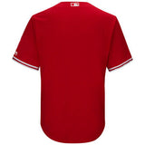 Blue Jays Replica Adult Alternate Red Jersey by Majestic (BLANK)