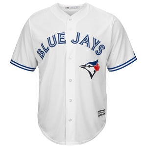 Blue Jays Replica Adult Home Jersey by Majestic (BLANK)