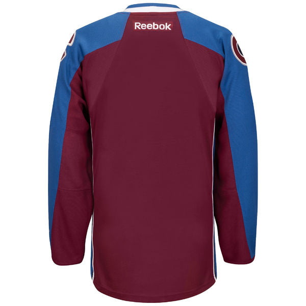 Colorado Avalance Adult Home Jersey (BLANK)