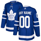 Toronto Maple Leafs adidas Adult Blue Home Jersey (CUSTOMIZED)