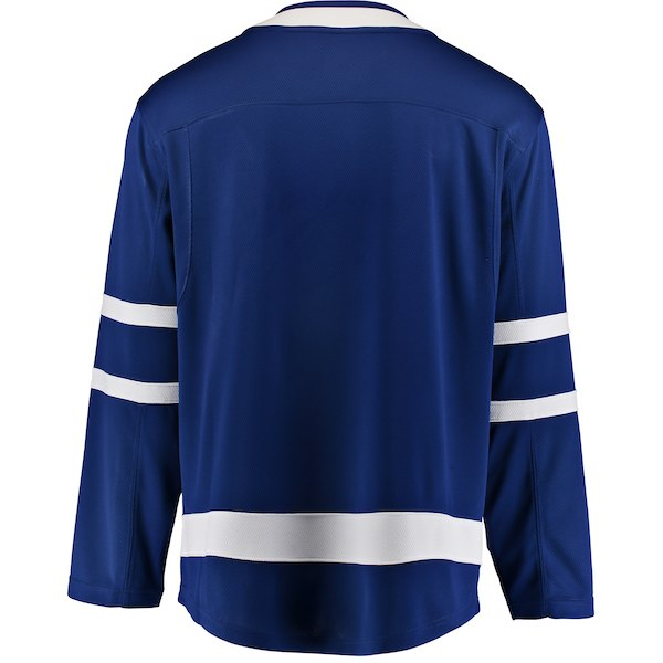 Toronto Maple Leafs Fanatics Branded Royal Breakaway - Blank Jersey