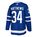 Toronto Maple Leafs Auston Matthews adidas Blue Authentic Player Jersey