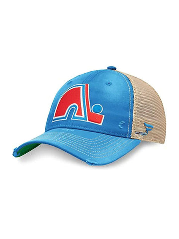 Quebec Nordiques NHL True Classic Adjustable Trucker Cap