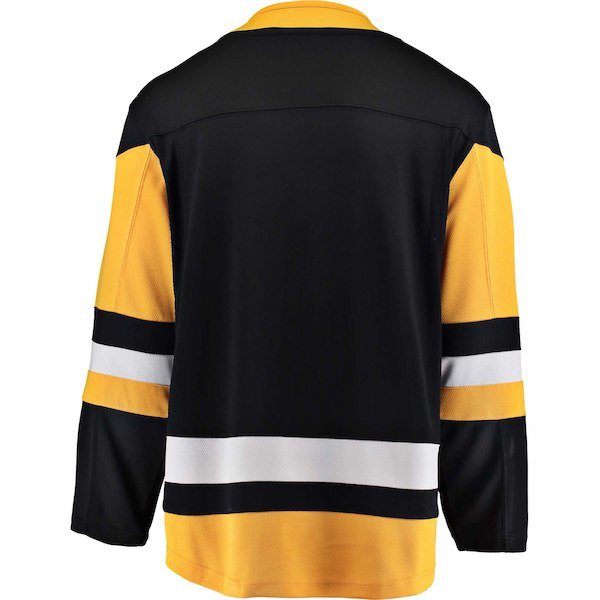 Pittsburgh Penguins Fanatics Branded Black Breakaway - Blank Jersey