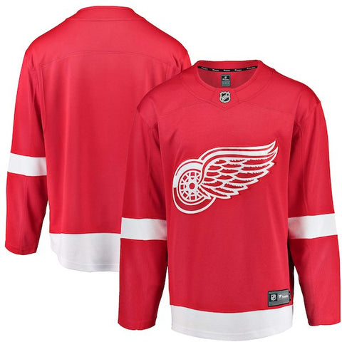 Detroit Red Wings Fanatics Branded Red Breakaway - Blank Jersey