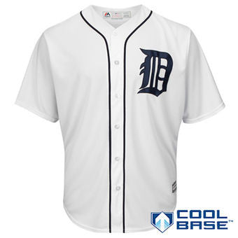 Detroit Tigers Replica Adult Jersey by Majestic (BLANK)