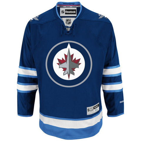 Winnipeg Jets Adult Home Jersey (BLANK)