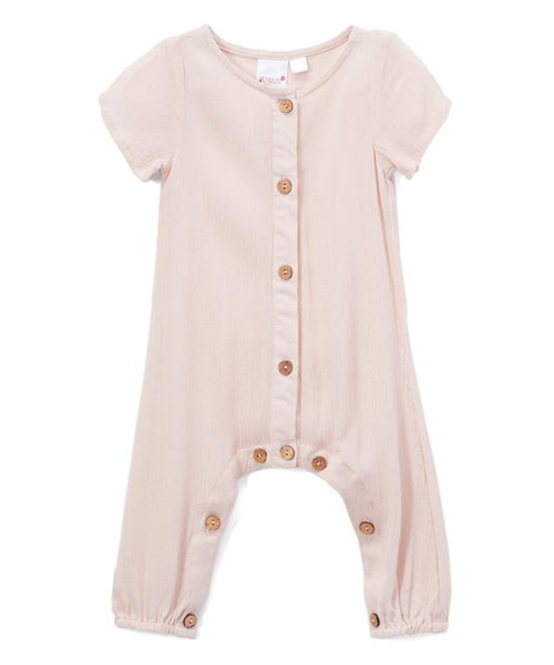 Blush Unisex Infant Romper Yo Baby India