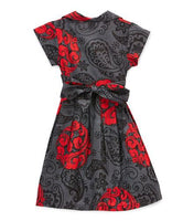 Grey and Red Dress Dress Yo Baby Wholesale