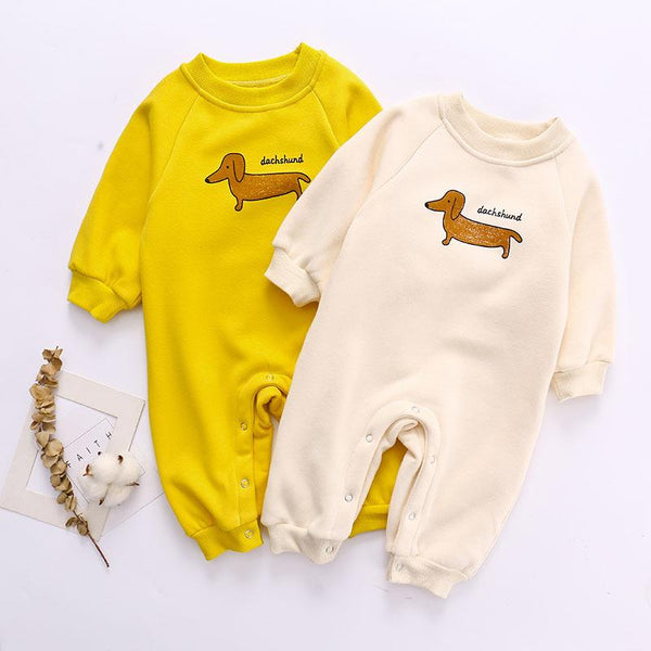 Infant Full Sleeves Winter Romper - Unisex Yo Baby India