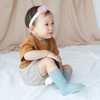 Knitted Angel-Wing Socks - Girls Yo Baby India
